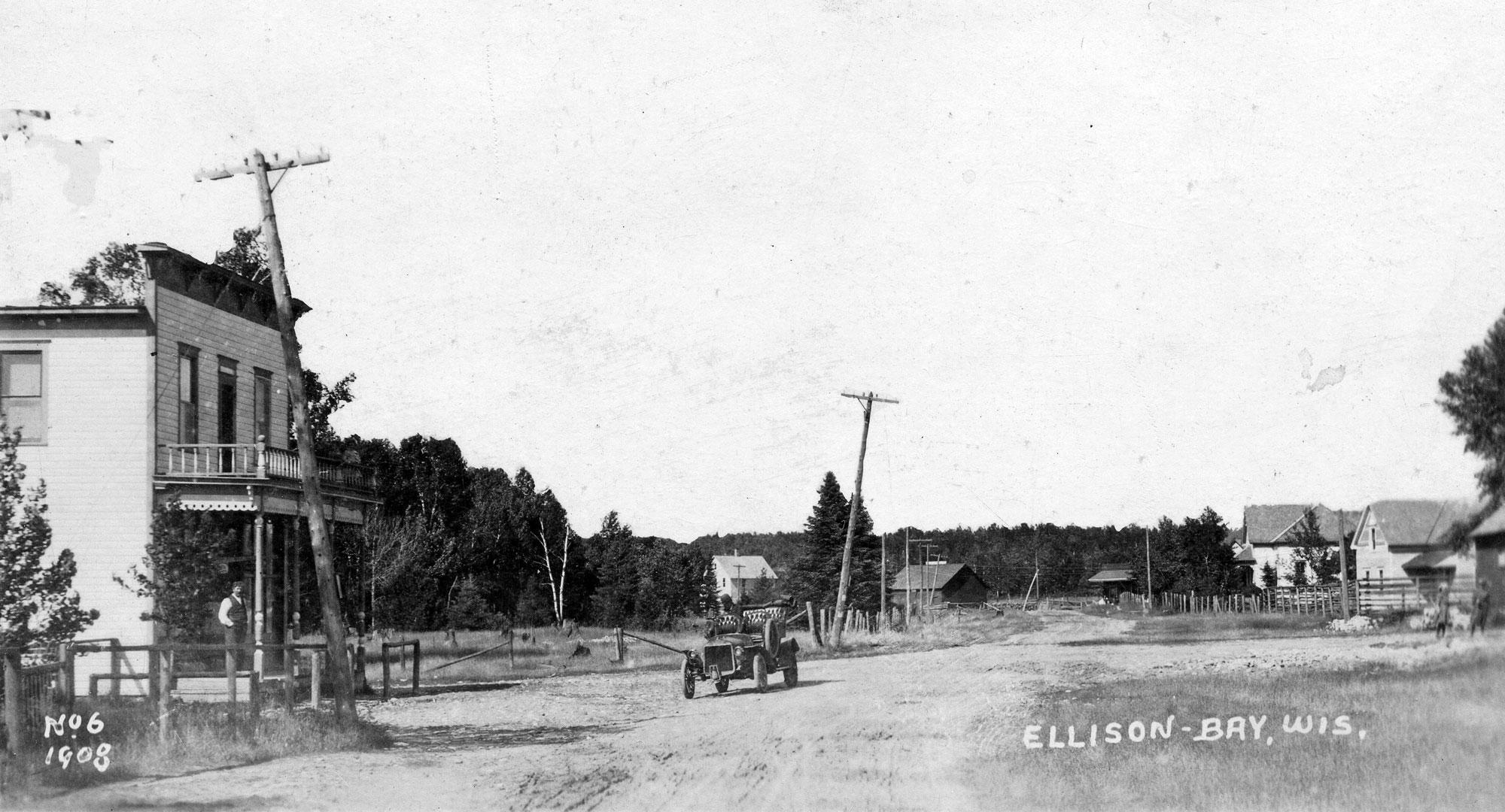 Ruckert's in Ellison Bay, 1908