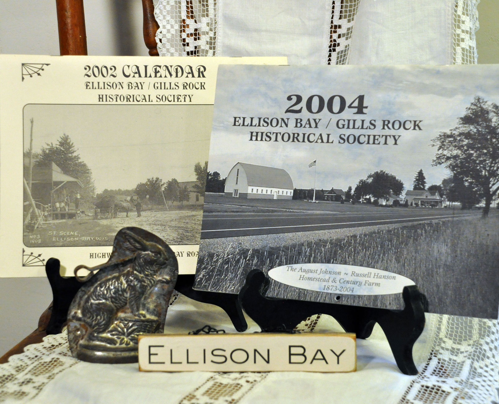 Ellison Bay/ Gills Rock 2002 & 2004 Calendars